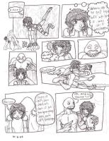 Vince and Cassie comic - WIP by Doodlebotbop