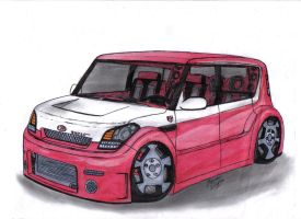 Kia Soul Cruiser for Dong Hun by Mister-Lou