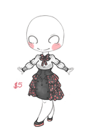 Outfit Design - Cherry Blossom CLOSED by Hardrockangel-Adopts