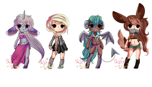 PastelStar Collab Adopts-closed- by PastelBits