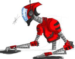 Robot Dj by Hysterio0