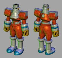 FireMan.EXE wireframe by Dionicio