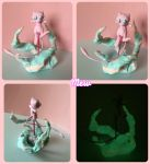Mew Polymer clay [Request] by Thunderboy0312