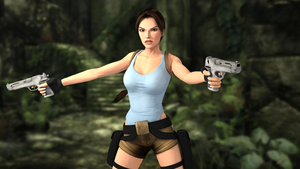 Lara is ready to fight by trazuzen