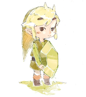 LoZ: Green Rupee by saltycatfish