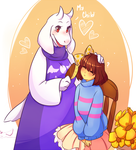 Undertale - My child by Chronnellian