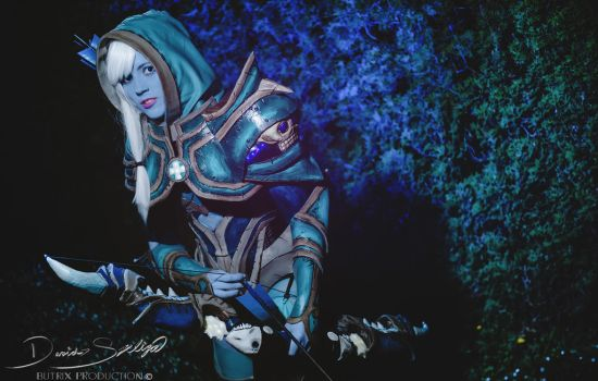 Drow Ranger - Death Shadow set by Naomi-R-Dreyar