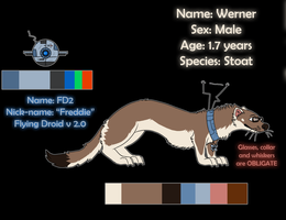 Werner and FD2 Reference by HeliacWolf