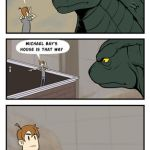 Good Guy Godzilla by IZRA