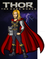 THOR the Dark World by CPD-91