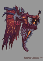 Aatrox - the darkin blade by kitsune0978