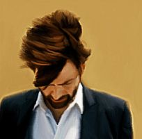 Hardy's Hair - Digitally Painted Gif by LicieOIC