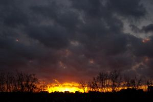 Come join my todays sunset 1 by steppelandstock