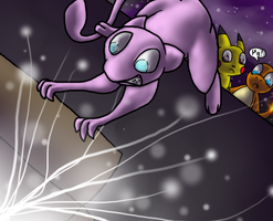 Space Pokemon by wolfmeg