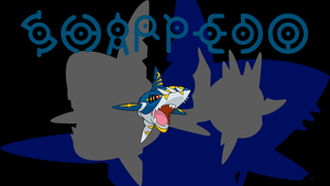 Mega Sharpedo Background by JCast639