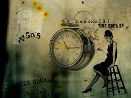 Texture 03 - 'Time Goes By.' by Calouette