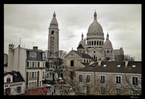 Sacre Coeur France II by MJ-Ach