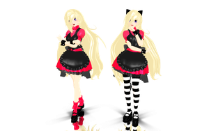 MMD Alice's sis DL... by cherrybreeze13