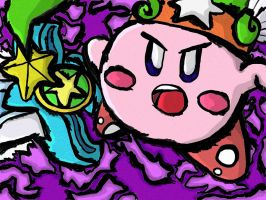Ultra Sword Kirby WW Style by KeyboardingChihuahua