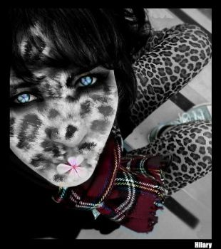 Leopard by Yuvi-Blue