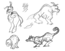 nickean creatures by anya1916