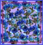 A Field of Blue (Scarf Design) by AceArtemis7