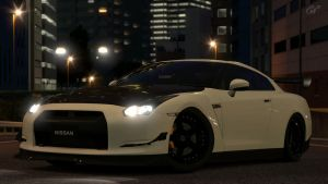 2007 Nissan GT-R (Gran Turismo 5) by Vertualissimo