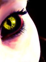 Eye of a Demon by iAlly