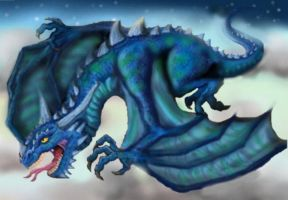 Estorian the dragon of the sky by Ruth-Tay