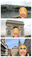 Miss Piggy in France by DCatpuppet