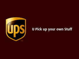 UPS - U Pick up your own Stuff by Pencilshade