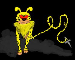 Marsupilami (unfinished) by Meuge
