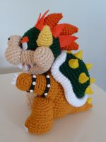 Bowser by cuteamigurumi