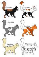 Cat Adopts! {OPEN} by SNlCKERS