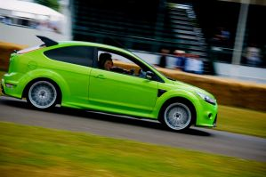 Green - Ford Focus RS by TVRfan