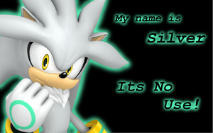 Silver the Hedgehog Wallpaper by Xbox-DS-Gameboy