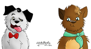 Puppy Klaine by OhhButterfly