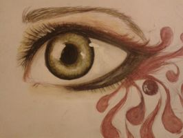 Just an Eye by InnerxUniverse