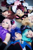 the vocaloids by xxxkurohoshi