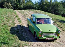 Trabant by quapouchy-moto