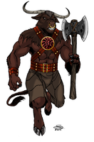 Minotaur by Joe-Singleton