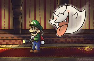 Luigi's Mansion by Paleona