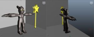 Subshadowmon 3D by Shiron66