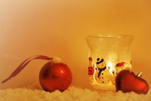 Snowman light by marialivia16
