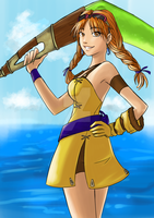 Request : Skies of Arcadia Aika by HitokiriChibi