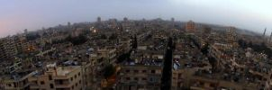 Panorama of Homs City by MunzerLens