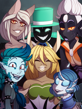 Family Photo by TheZodiacLord