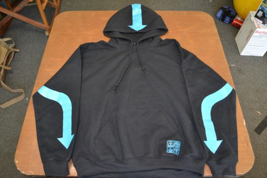 Avatar Aang Hoodie by Ourobouros434