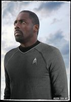 Idris Elba Celebrity Star Trek by gazomg