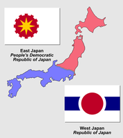 Flags of divided Japan by Martin23230